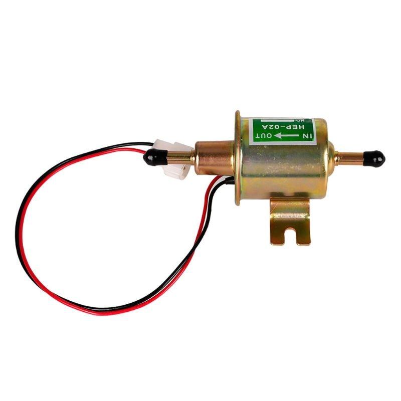 HEP-02A New Gas fuel pump Inline Low Pressure electric 12V Q84E