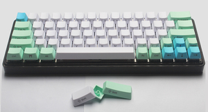 Image 4 - NPKC PBT Keycaps for GH60 XD60 XD64 DZ60 GK61 GK64 Fit with Cherry MX Switches of Mechanical Keyboards Free Shipping