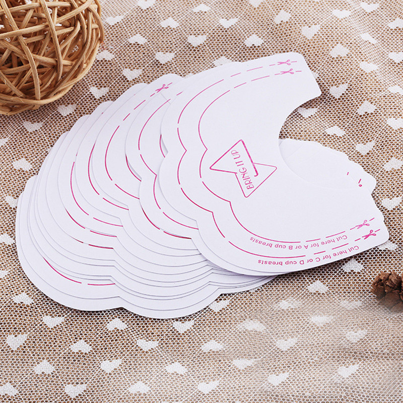 10 Pcs Sexy Women Glue Nipple Cover Pads Invisible Breast Lift Up Bra Tape Sticker Disposable Paste Anti Emptied Breast Paste
