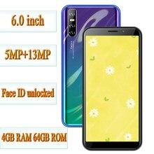 Quad core mate20 pro smartphones desbloqueado 6.0 phones phones telefones celulares originais android mtk 4g ram 64g rom telefones celulares face id