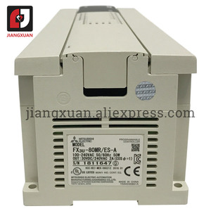 Image 4 - Fx3u série programável controlador lógico módulo de controle industrial fx3u 128 80 64 48 32 16 mr mt ms