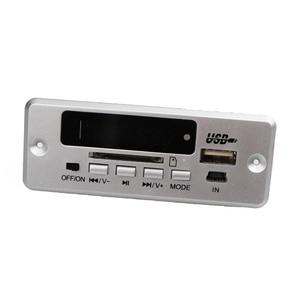 Image 5 - Bluetooth 5.0 MP3 Decoder Decoding Board Module Wireless Car USB MP3 Player WMA WAV TF Card Slot / USB / FM Remote Board Module