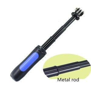Image 4 - Настольный мини штатив, держатель селфи палки, алюминиевый сплав, крепление на стержень, Карманная камера для FIMI, Карманная камера, карданный подвес, аксессуары