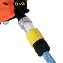 JUNGLEFLASH Car Washing Machine Adapter for High Pressure Washer Water Connector Filter Quick Connect Garden Hose Pipe Fitting