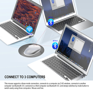 Image 5 - Jelly Comb 3.0/5.0 บลูทูธไร้สายเงียบเมาส์บลูทูธ 2.4GHz เมาส์ USB สำหรับแล็ปท็อปโน้ตบุ๊ค PC