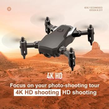 цена LF606 Mini Drone with Camera wifi FPV Foldable RC Mini Quadcopter with 4K Camera HD Altitude Mini Dron Kids Toy RC Helicopter онлайн в 2017 году