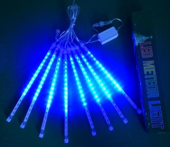 New Year 30/50cm Outdoor Meteor Shower Rain 8 Tubes LED String Lights Waterproof For Tree Christmas Wedding Party Decoration new year 30cm outdoor meteor shower rain 8 tubes led string lights waterproof for christmas wedding party decoration