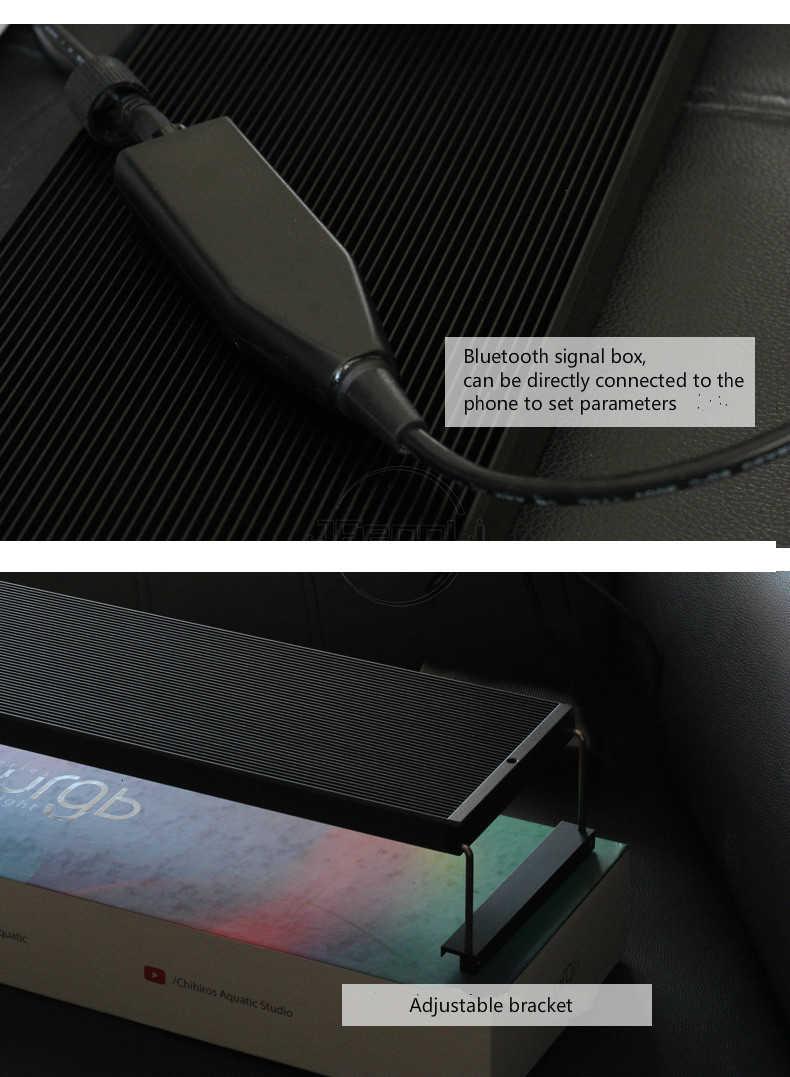 Chihiros WRGB II 2 LED Light Upgrade RGB Full Specturn wbudowana kontrola aplikacji Bluetooth roślina wodna akwariowa oświetlenie