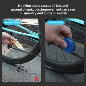 Велосипедный спорт Звездочка роликовой цепи масленка смазочные материалы Велоспорт Шестерни ролик очиститель смазочного масла W/магнит ремонт велосипедной цепи инструмент велосипед аксессуары