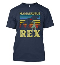 Womens Mamasaurus Rex Vintage Retro Gift for Mothers Day Funny Mamasaurus(China)