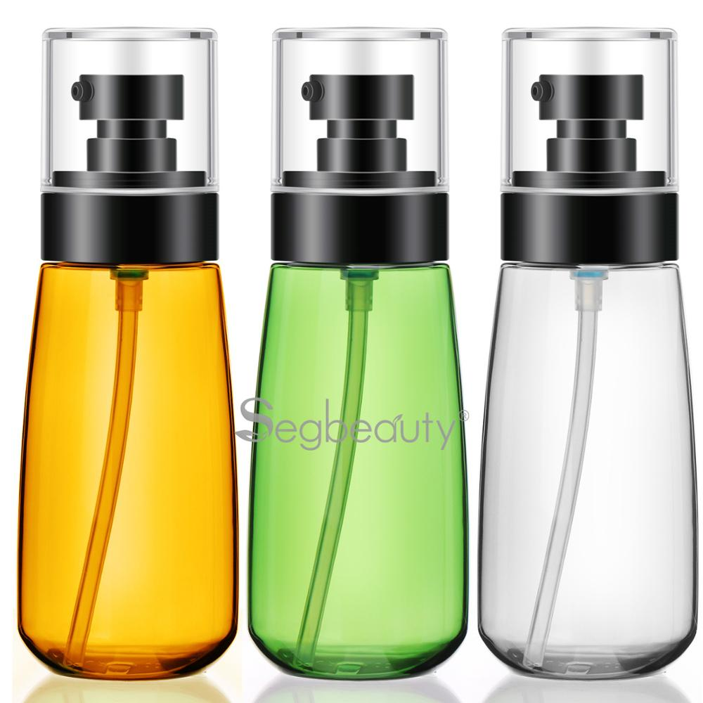 Segbeauty 3pcs Travel Lotion Dispenser Empty Bottles 30ml/60/100ml Refillable Essence Cosmetic Container Shampoo Conditioner