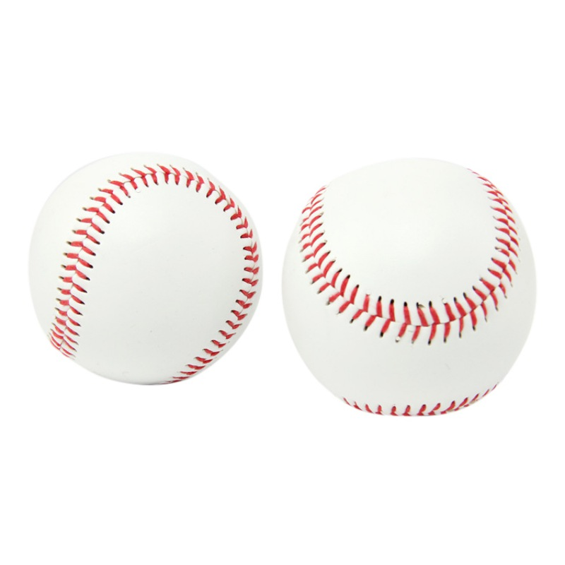 High Quality PVC Upper Rubber Inner Soft Baseball Balls Softball Ball Training Exercise 9