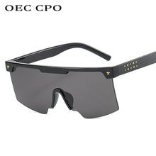 Male Flat Top Sunglasses Men Brand Squar