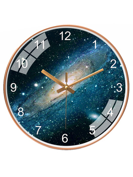 Silent Quartz Wall Clock Mechanism Simple Creative Single Novelty Wall Clock Lcd Bathroom Relogio Parede Home Decor AA60WC