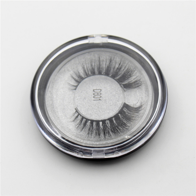 AMAOLASH 3D Mink Lashes Cruelty Free Mink False Eyelashes Natural Handmade Eyelash Extension Makeup Fake Eye Lashes 5