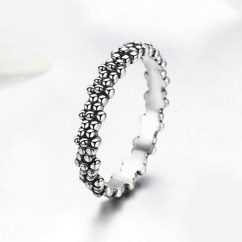 2019 新ファッションリング愛のハート王冠の花指リングクリア Cz フィットパン女性の結婚式の宝石類のギフトドロップシップ