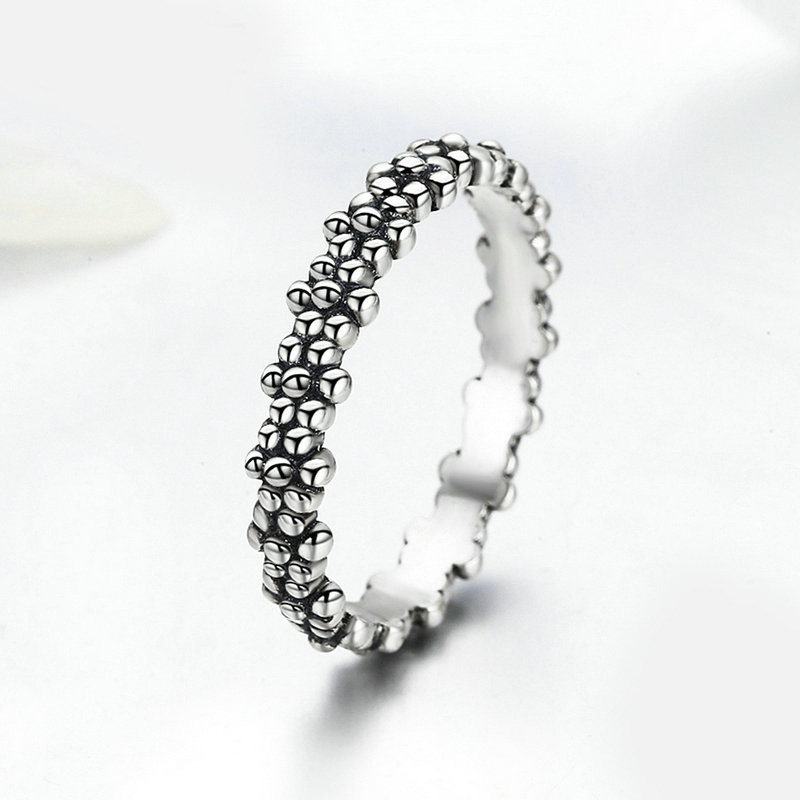 2019 New Fashion Ring Love Heart Crown Flower Finger Rings Clear CZ Stackable Fit Pan For Women Wedding Jewelry Gift Dropship 3