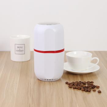 Gospodarstwa domowego Mini elektryczny młynek do kawy orzechy fasola przyprawy ziarna szlifierka fasola młyn zioła maszyna do mielenia ue tanie i dobre opinie alloet CN (pochodzenie)