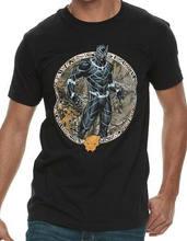 Pantera Negra promo Medalln Con Licencia Camiseta Adulto sizes S-2Xl