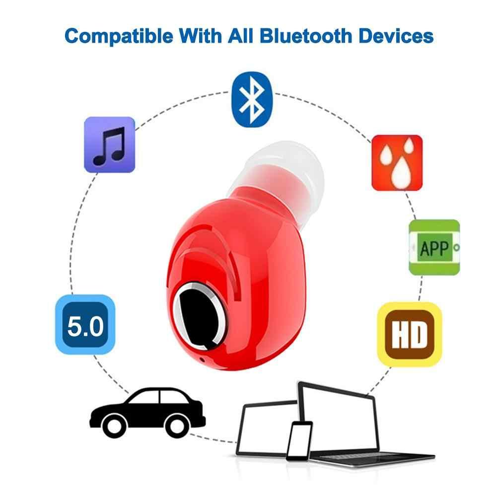 Mini Wireless Bluetooth Kopfhörer V5.0 Stereo in-ear Headset mit Mic Sport-laufende Earbuds Kopfhörer für Samsung Huawei Xiaomi