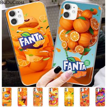 Fanta Drink Orange DIY Printing Phone Case For IPhone 11 12 Pro XS MAX 8 7 6 6S Plus X 5S SE 2020 XR Cover image