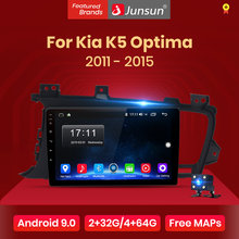 Junsun V1 Android 9.0 2G + 32G Dsp Auto Radio Multimedia Video Player Voor Kia K5 Optima 2011-2015 Navigatie Gps 2 Din Autoradio(China)