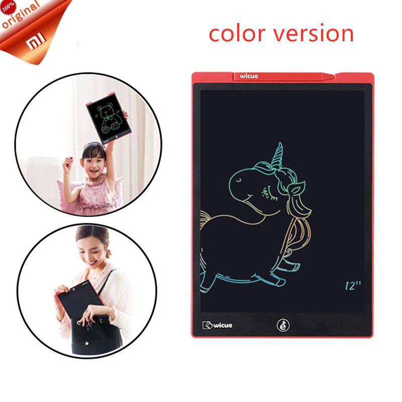New Xiaomi Wicue 12 Inchs / 10 Inch LCD Handwriting Board Writing Tablet Digital Drawing Imagine Pad Expanding Idea Pen for KidsSmart Remote Control   -