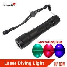 Лазерный светильник для дайвинга красный синий зеленый светодиодный