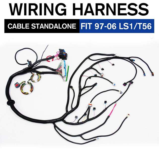 03 07/97 06 Engines VORTEC STANDALONE LS2/DBC LS1 WIRING HARNESS W/4L60E  Drive By Wire 4.8 5.3 6.0 Multec Harness|Cables, Adapters & Sockets| -  AliExpresswww.aliexpress.com