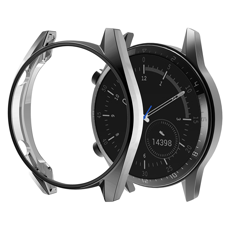 Cases de Relógio para Huawei Protetor de Tela Pára-choques para Huawei Cobertura Completa Relógio 42mm 46mm Suave Clara Acessórios gt 2