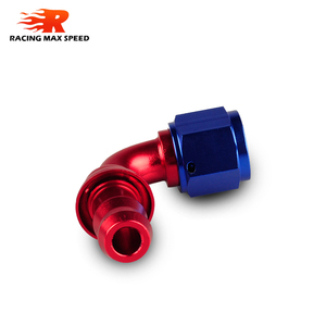 Image 5 - car accessories intercooler Aluminum FITTING Push On Hose Ends Pipe AN6 fitting