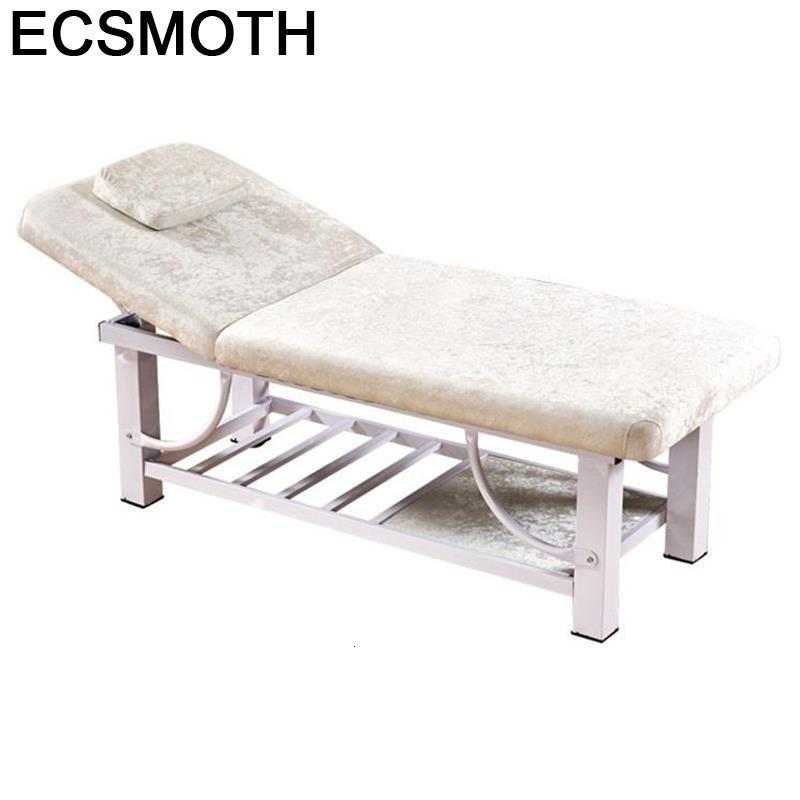 Pieghevole Lettino Massaggio Beauty Mueble De Furniture Cama Para Masaje Massagetafel Table Salon Folding Chair Massage Bed