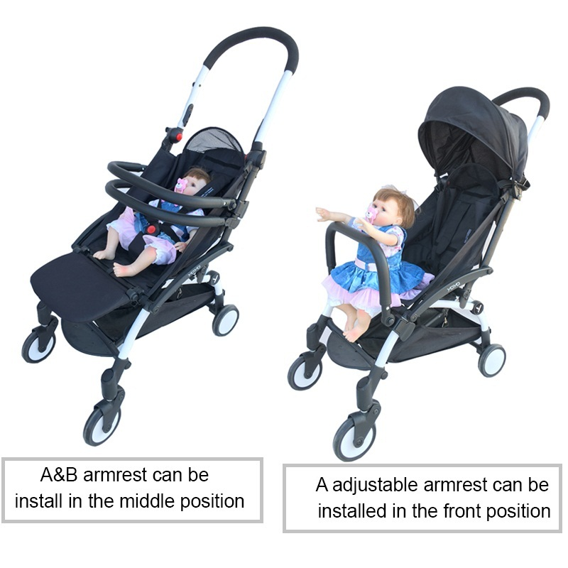 Extens Booster Seat Footrest Footset Bumper Bar For Yoyo Yoya VovoBB Stroller