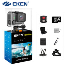 EKEN H9R Plus Cámara de Acción Ultra HD 4K A12 4 k/30fps 1080 p/60fps para Panasonic 34112 14MP ir impermeable wifi sport Cam pro(China)