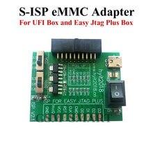 S-ISP emmc adaptador isp read-write ferramenta emmc funciona com z3x fácil jtag ou ufi caixa para melhorar o desempenho da estabilidade de huawei oppo