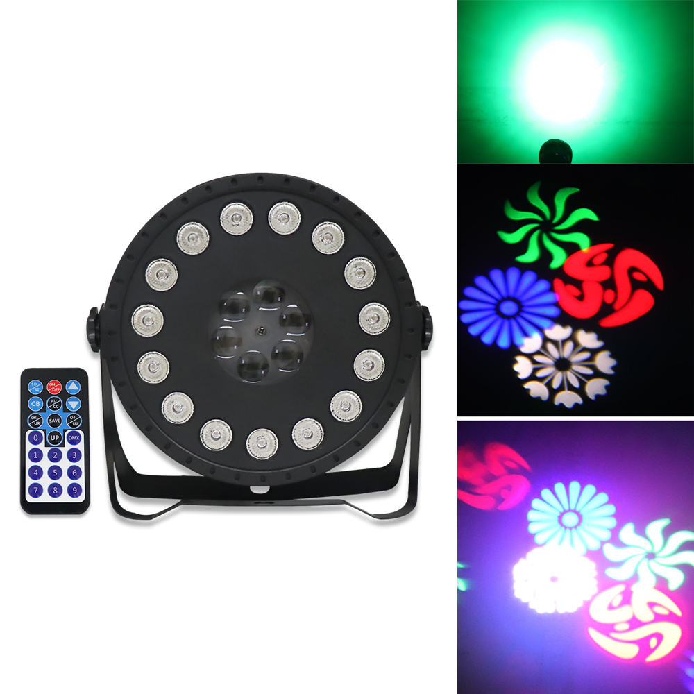 2in1parttern Par Light 2020 Newest Effect Projector Wedding Party Lighting Dmx Disco Backlight