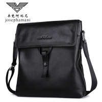 fashion Men genuine leather shoulder bag High end JOSEPHAMANI Brand messenger bag New Head layer cow bag