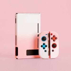 Image 3 - IVYUEEN funda dura protectora colorida para consola Nintendo Switch NS, funda trasera para Nintendo Switch Joy Con