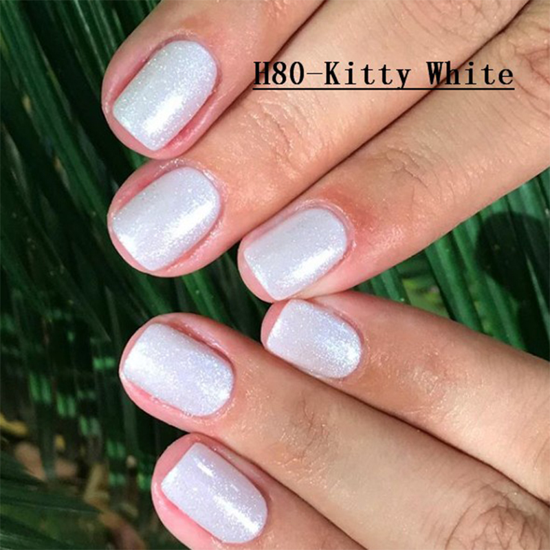 1 PCS Hello Kits UV Gel Polish Nude Gelcolor Semi Permanent Verni LED Hybrid Opies Gel Varnish Base Coat Top Coat No Wipe Gellak