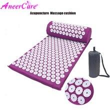 Massager Yoga Cushion  Acupuncture Sets Relieve  Pain Neck Massage Back Pain Acupressure Mat/Pillow Massage Acupuncture Cushion недорого