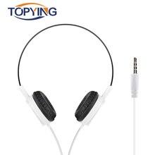 Wired Headphone Over Ear Mini Stereo Music Headphone Sport Headphone For Huawei