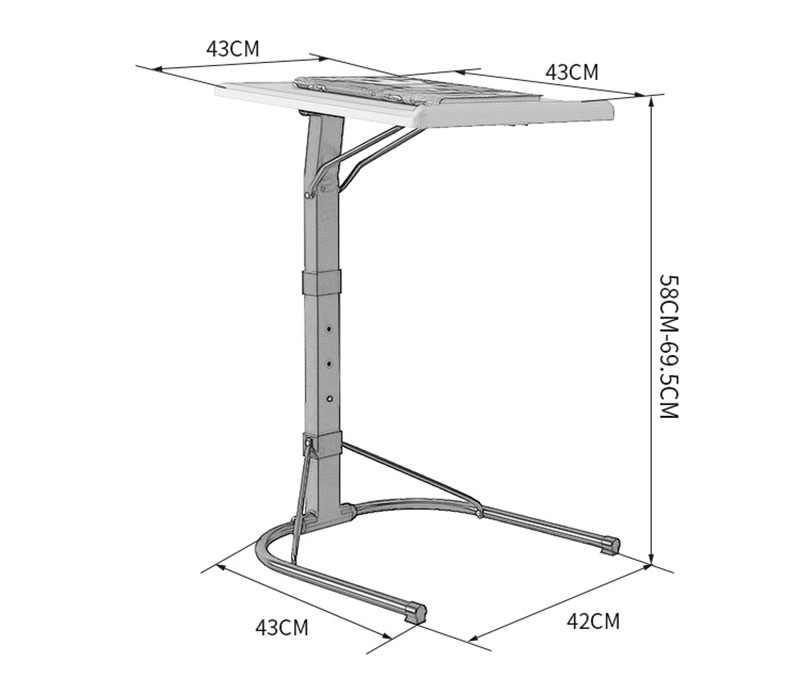 Складной компьютерный стол для ноутбука, кровать для обучения, бытовой подъёмный складной прикроватный диван, стол для ноутбука, стоячий стол, маленькие столы