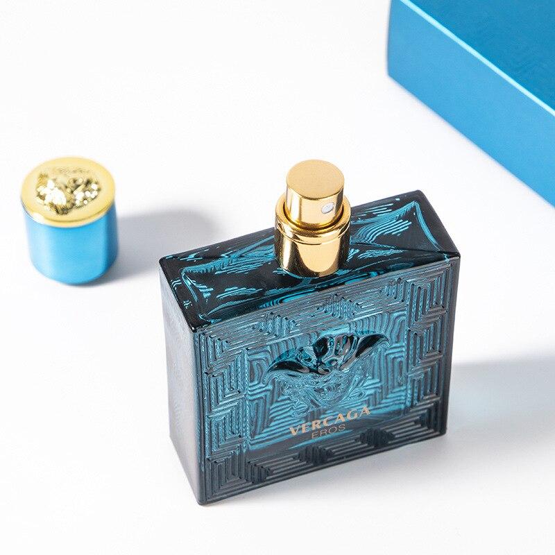 Original men's perfume glass bottle fashion cologne lasting light fragrance gift box packaging perfume 50ml