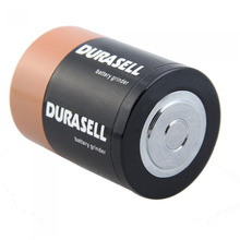 Durasell Battery Herb Grinder Weed Big High Quality Zinc Alloy Metal Tobacco Crusher