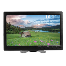 10.1 인치 1366x768 휴대용 모니터 VGA HDMI BNC USB 입력 PS3/PS4 XBOX360 라즈베리 파이 Windows 7 8 10 시스템 CCTV