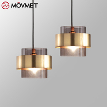 Nordic Art Deco Glass Pendant Light For Living Room Modern LED Dining Room Lamp Hanging Fixtures modern nordic rose plant pendant lights led glass hanging lamp for home decor luminaires dining room living room light fixtures