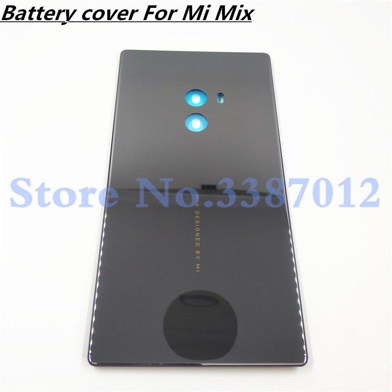 Керамическое издание mi x Новый батарейный задний Чехол для Xiaomi mi X без объектива камеры