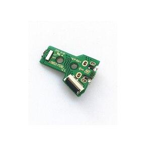 Image 5 - Für PS4 JDM 050 JDM 055 JDS 055 JDS 050 Controller Reparatur Key Halter Inneren Rahmen Lade Board Flex Band Kabel ConductiveFilm