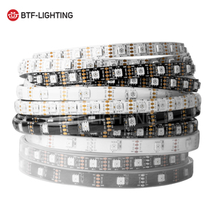 BF2815 DC12V Dual-Signal (WS2812B/WS2813) RGB Pixels LED Strip Light 1903IC Individually Addressable 1m/5m 30/60 Pixels/Leds/m