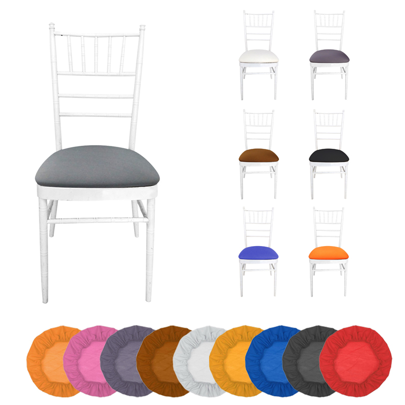 Removable Thickened Spandex Chair Cover Hood Seat Cushion Covers Dining Room Wedding Banquet Chair Covers Washable Slipcover Famous For Selected Materials, Novel Designs, Delightful Colors And Exquisite Workmanship